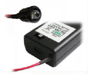 Switched LED battery flasher for cars motor bikes